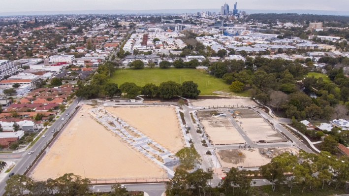 Jolimont: second opportunity for buyers to get in at Parkside Walk estate