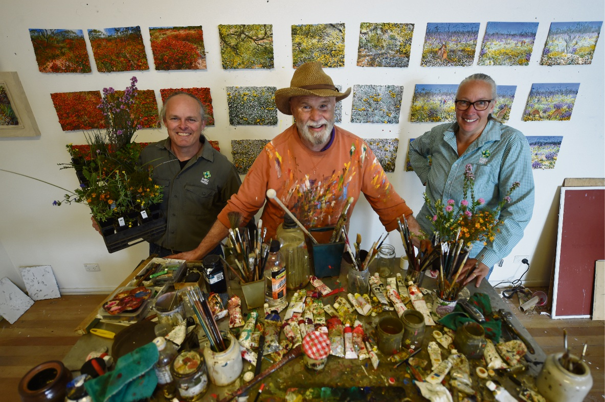 South Perth artist Peter Kendall to open home studio