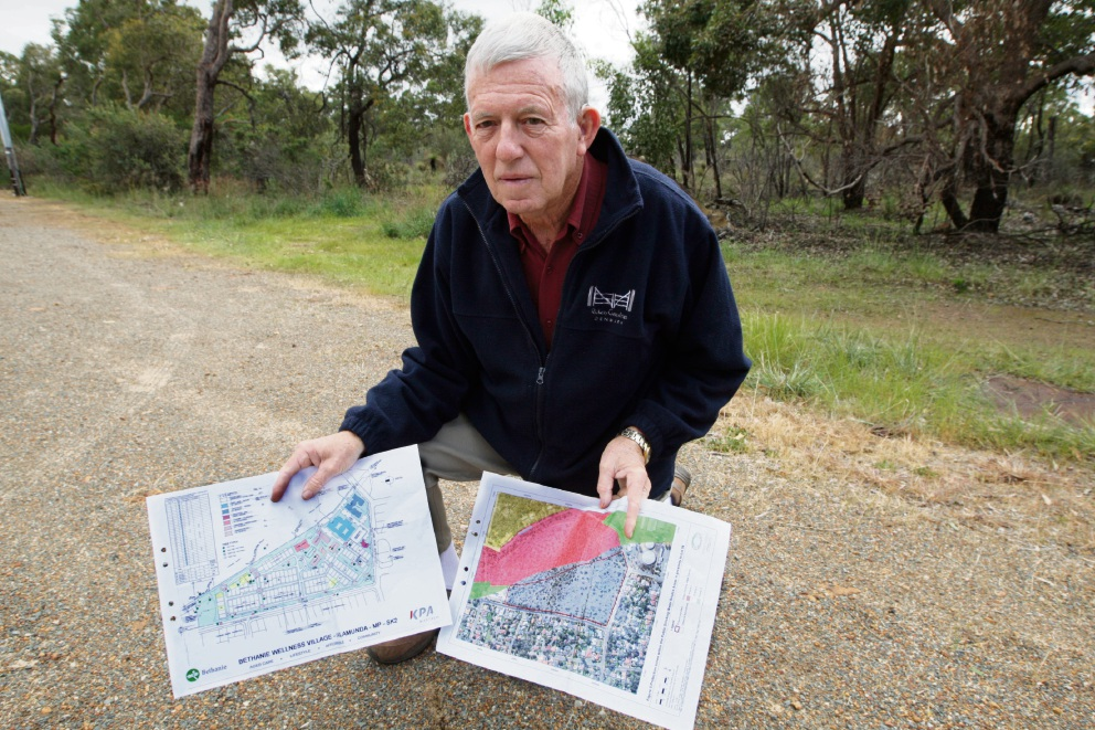 Bid to reverse minister's decision on aged care development in Wilkins Rd, Kalamunda