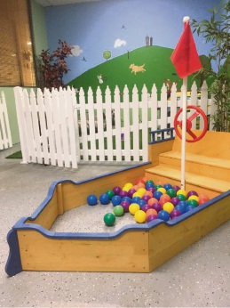 What more could a doggy want than a doggy ball pit?