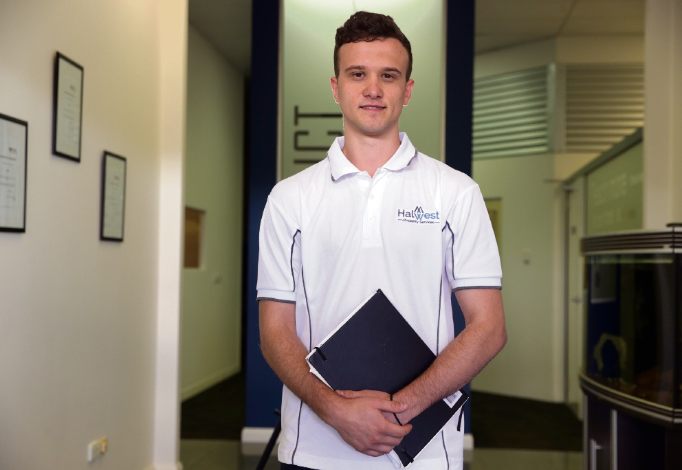 Dan Spasojevic from Halwest Property Services. Picture: Martin Kennealey d474515