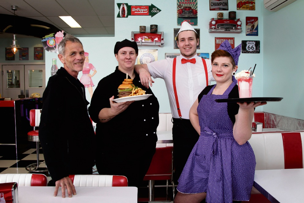 Joondalup: DelBoy's Diner brings back spirit of the 1950s