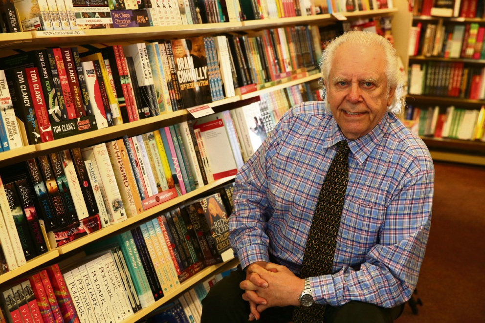 Dymocks Joondalup owner James Brown. Picture: Martin Kennealey d474590