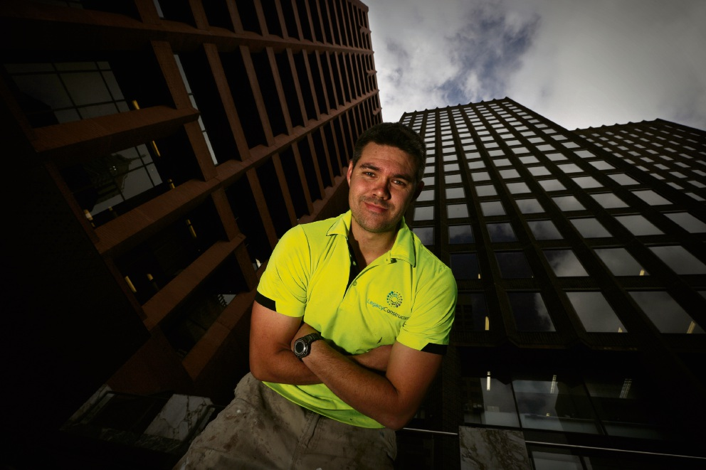 WA Apprentice of the Year Jamie Stewart. Picture: Andrew Ritchie d474137