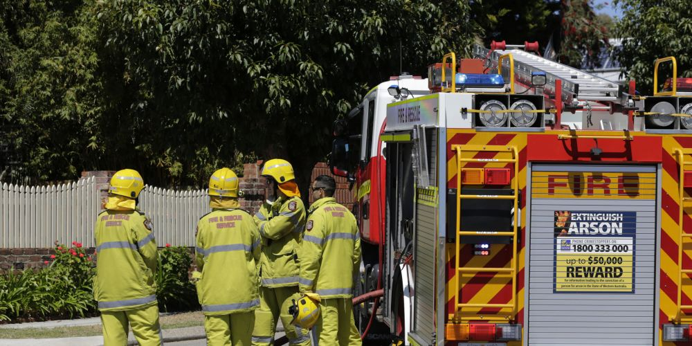 The incident in Whatley Crescent, Maylands. Photo: Andrew Ritchie