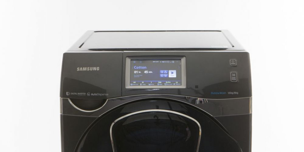 The Samsung washer that takes six hours to complete a cycle.