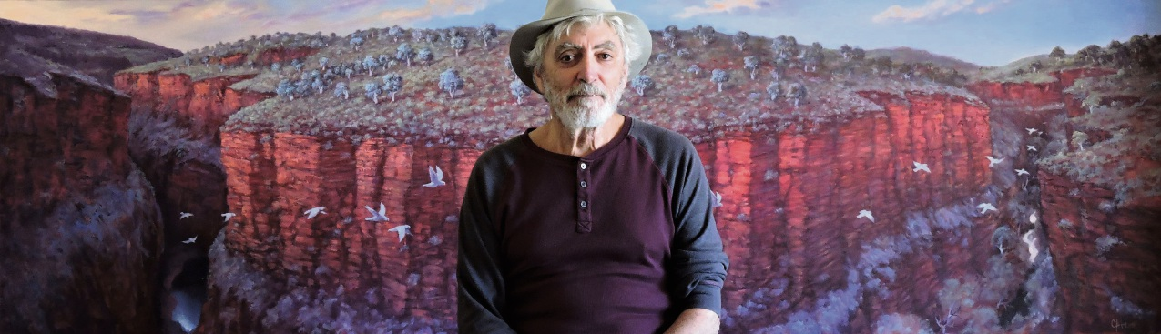 Artist Colin Atkins will host a exhibition in Ellenbrook next weekend. Picture: Supplied