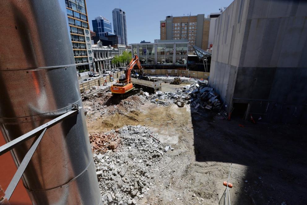 Raine Square development. Picture: Andrew Ritchie www.communitypix.com.au   d474733