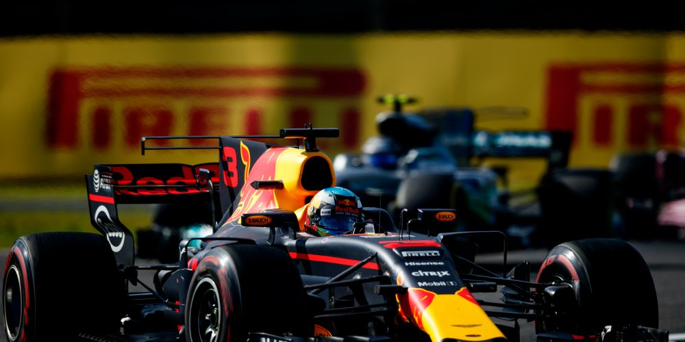 Third place finisher Daniel Ricciardo. Picture: Lars Baron/Getty Images