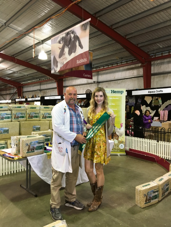 Bexley's Real Estate sales administrator has win at Perth Royal Show