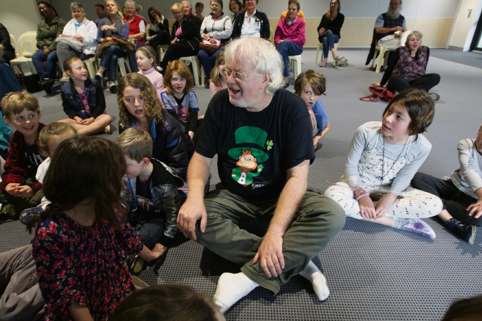 Harald Juengst at Boya Community Hub. Picture: Bruce Hunt