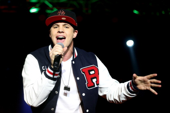 Johnny Ruffo performing in 2012. Picture: Mark Metcalfe/Getty Images for Nickelodeon Australia