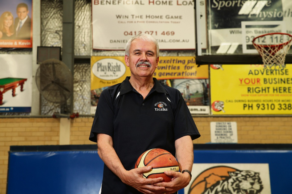 Willetton Basketball Association president Phil Nixon. Picture: Martin Kennealey    d474696