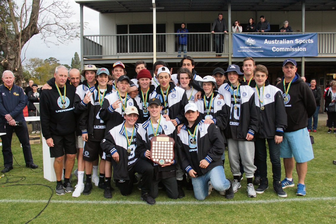 Under-15s boys champions Western Metro from Victoria.