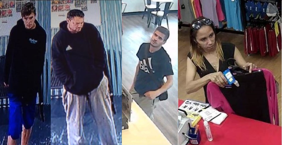 Mandurah police would like to speak to the people pictured in relation to incidents throughout the region in recent weeks.