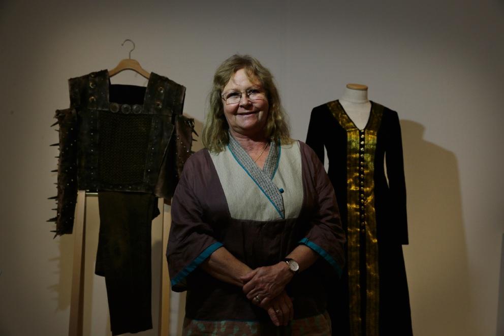Costume designer Jean Turnbull Marashlian. Picture: Andrew Ritchie