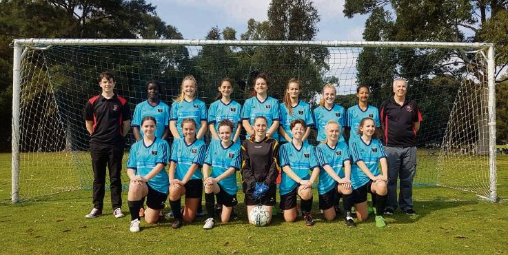 The Baldivis Under 17 girls won their league championship.