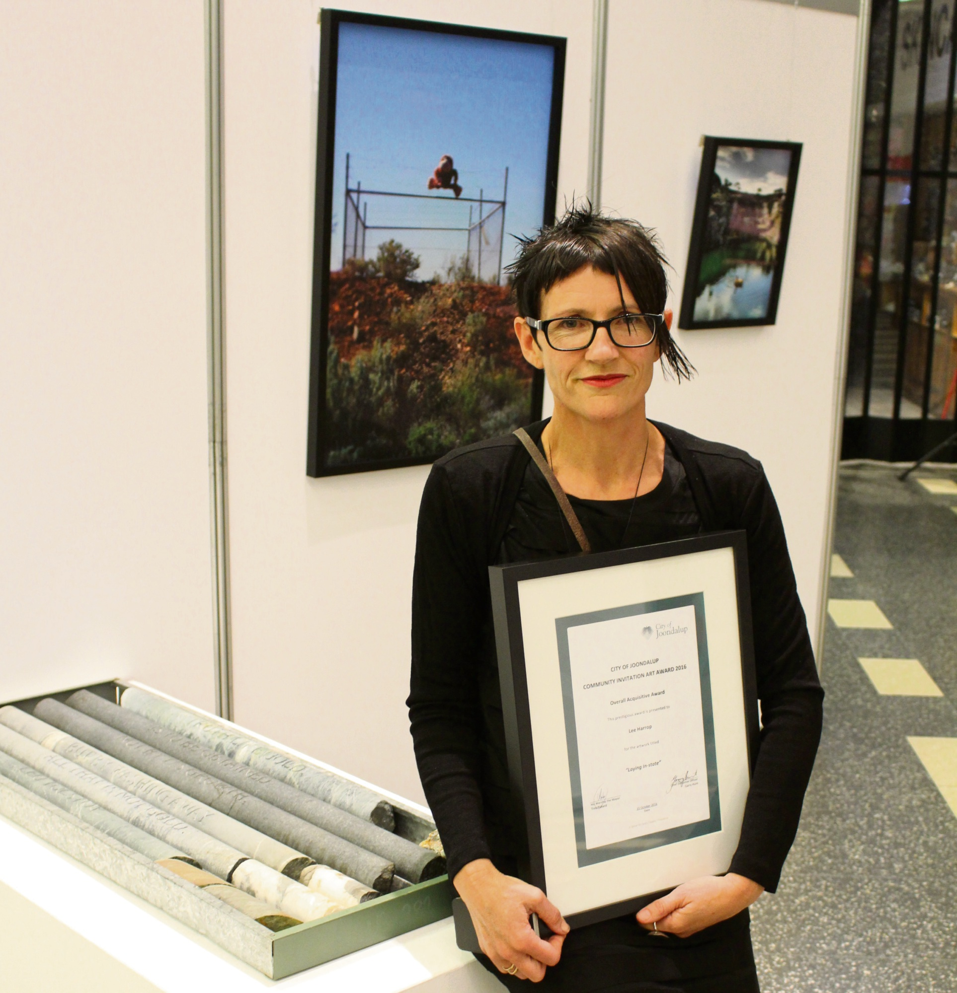Artist Lee Harrop wins $7000 City of Joondalup invitation art award