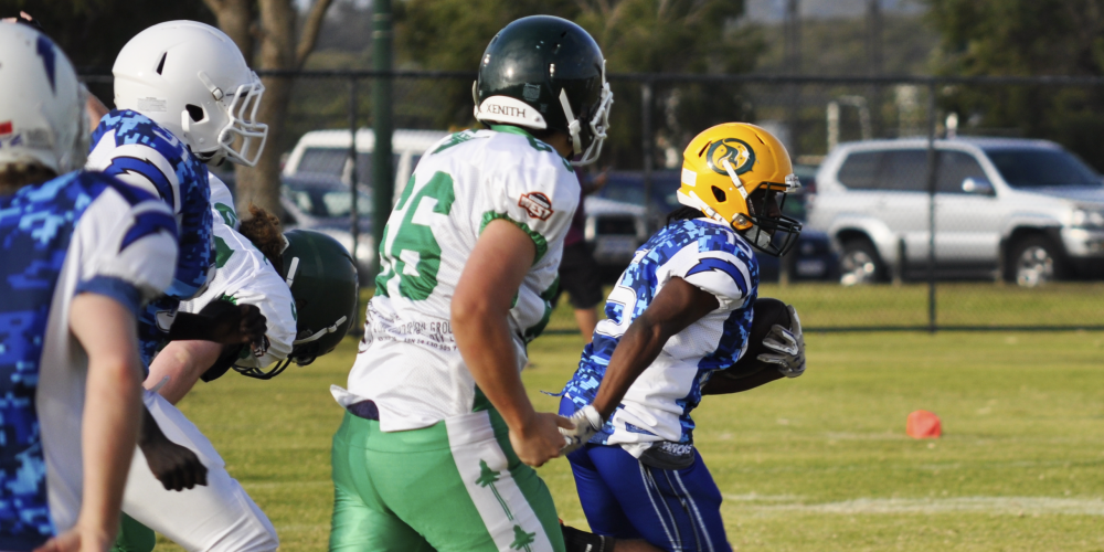 Gridiron: Perth Blitz back on track with senior and junior wins over Claremont Jets