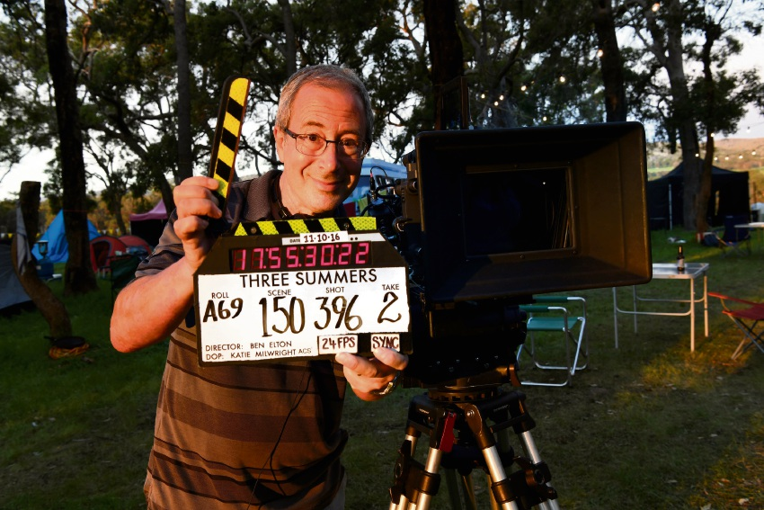 Three Summers: Ben Elton in Mandurah for premier of new film on October 30