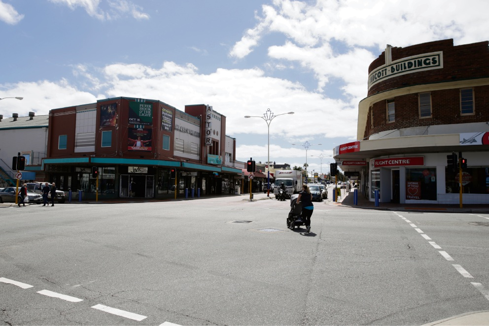 Beaufort Street today.