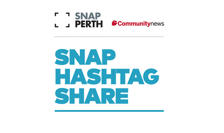 Snap Hashtag Share banner