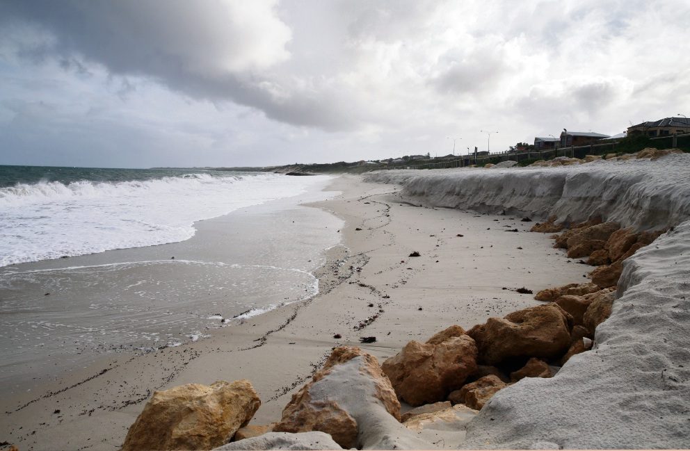 Coastal councils in panic about erosion
