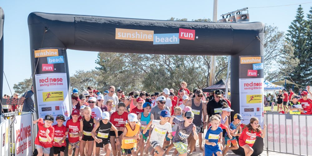The Sunshine Beach Run has helped raise more than $920,000 for Red Nose.