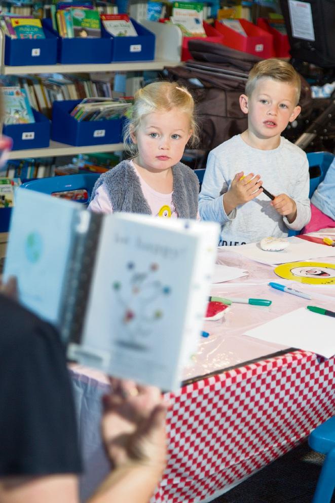 Emily (4) and Jackson (7) Idel. Picture: Marie Nirme www.communitypix.com.au d474750
