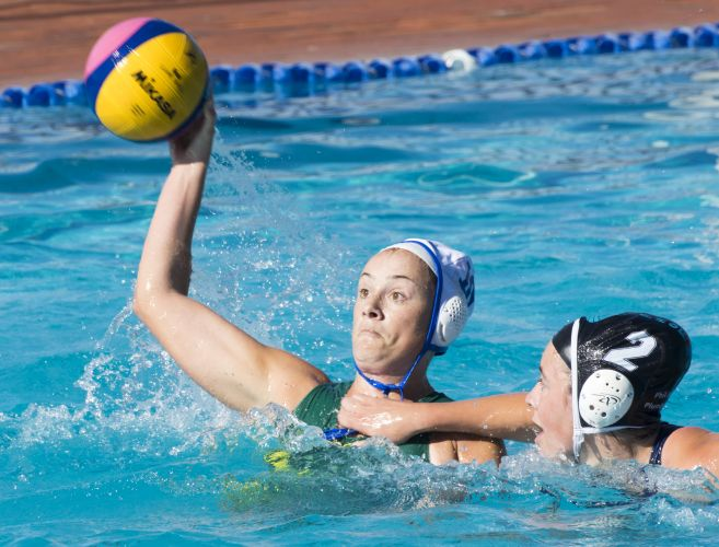 Erin Redbond's 5 goals helped Melville Marlins account for Dolphins on Saturday.