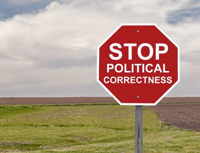 The politically correct minority continue to shove their way in