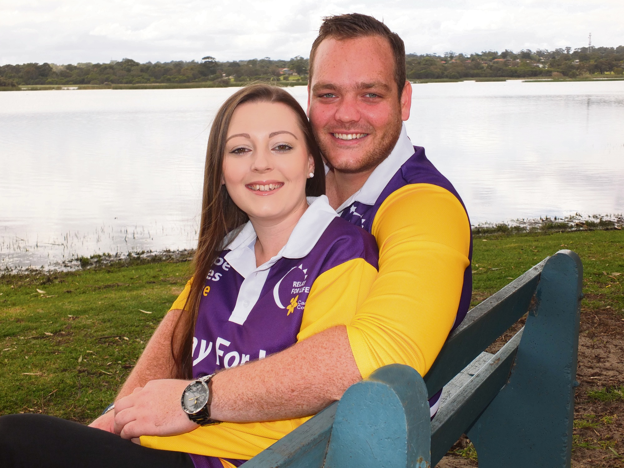 Amelia Hewison and Robi Boscarino, who met at the 2008 Relay for Life, will be getting married in a few weeks.