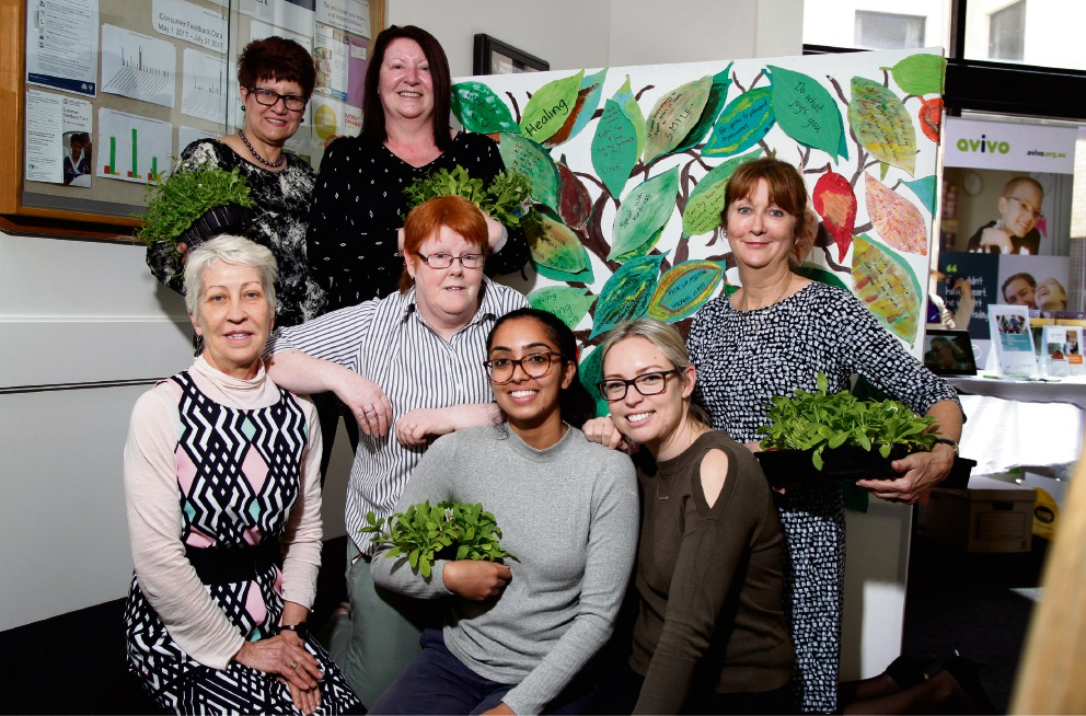 Armadale Hospital comes alive with colour for Mental Health Week