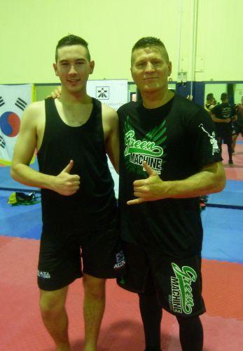 Danny Green (right).