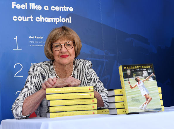 Margaret Court. Picture: Vince Caligiuri/Getty Images