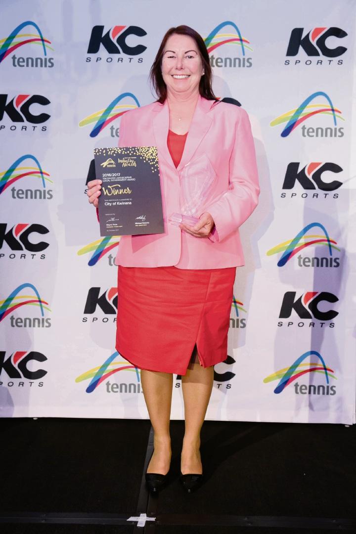 City of Kwinana nets tennis award