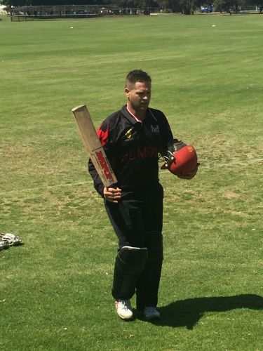 Luke Jury made 122 as Perth posted a total of 273 against Wanneroo.