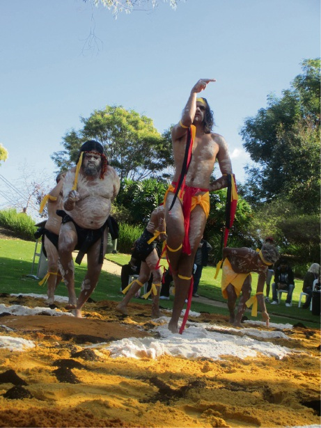 Traditional dance will be a part of Back to Pinjarra Day on Saturday.
