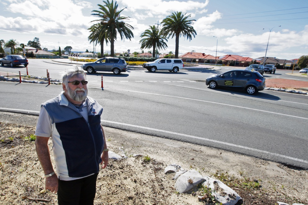 Colin Stratford surveys the Nicholson Road-Yale Road-Garden Street roundabout that is causing so much angst.