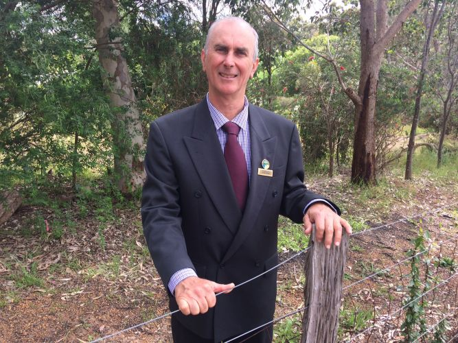 John Daw is the new president of the Shire of Mundaring. Picture: John Daw.