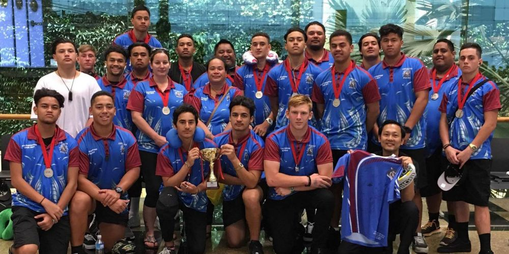 The Kwinana Wolves Rugby Union under-16s made the Grand Finals in a tournament in Singapore.