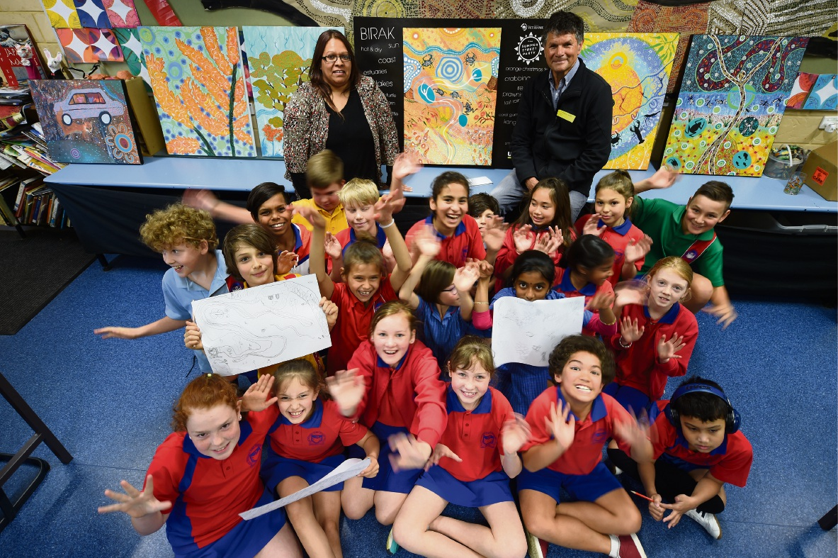 East Victoria Park PS gets education on indigenous art
