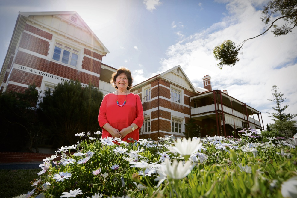 Former WA School for Deaf Children student Dawn Harrison. Picture: Andrew Ritchie    d475194