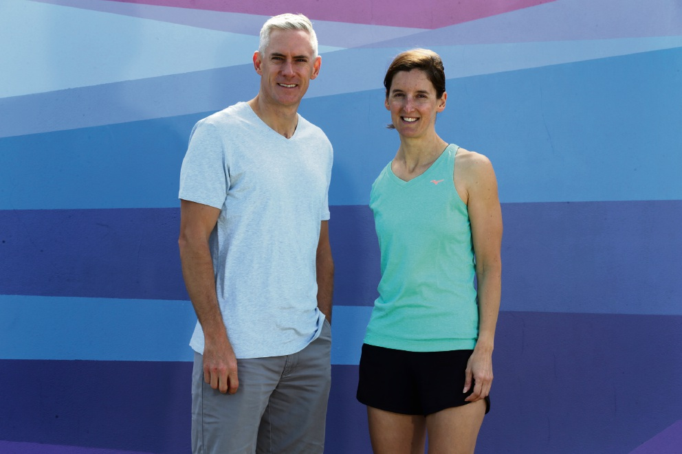Sally Pilbeam and Craig Butterworth will join the Queen's Baton relay next year.