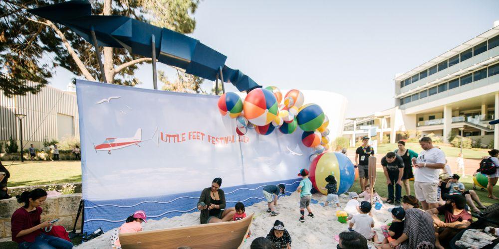 Thousands of Little Feet stomp through ECU for festival