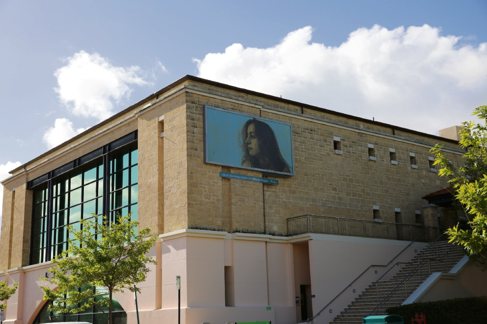 Local artist honoured to create Joondalup Library's latest billboard