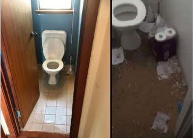 Video: Mandurah landlord disgusted to find house full of trash, faeces and rodents