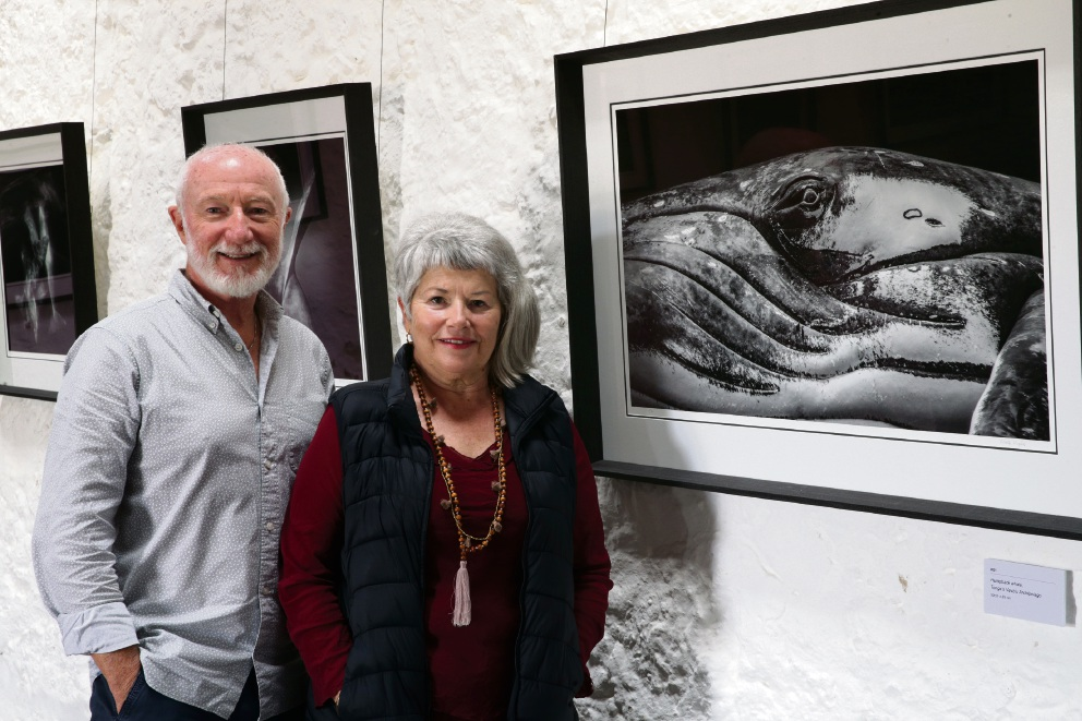 Wade and Robyn Hughes. Picture: Martin Kennealey www.communitypix.com.au d475473