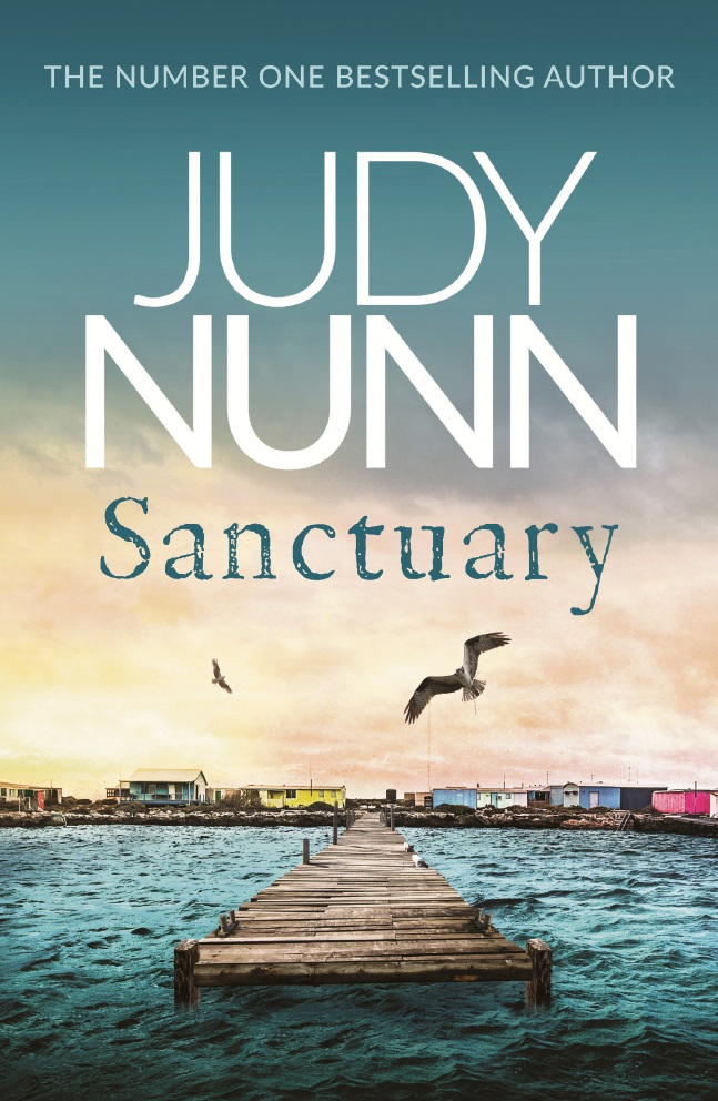 Her 14th novel Sanctuary.