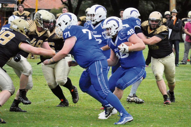 Gridiron: Perth Blitz claims three wins from three